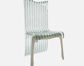 3D wooden chair plexiglas Chair