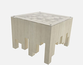 Table table beams 3D model