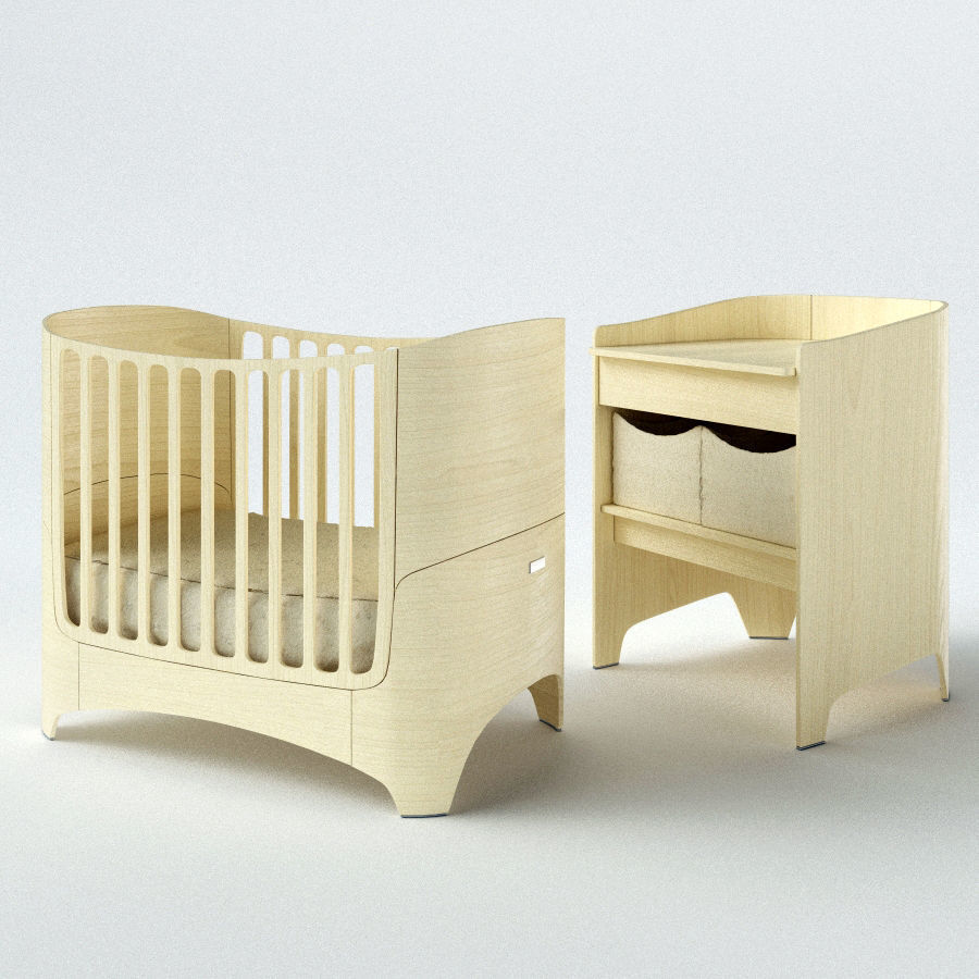Leander Baby cot and Changing table