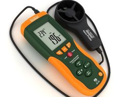 Thermo-Anemometer 3D