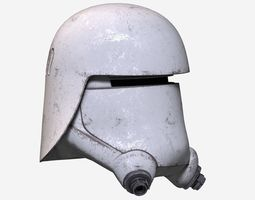 3D asset Star Wars Helmet
