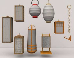 3D model Andon Collection