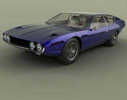 Lamborghini Espada 3D model
