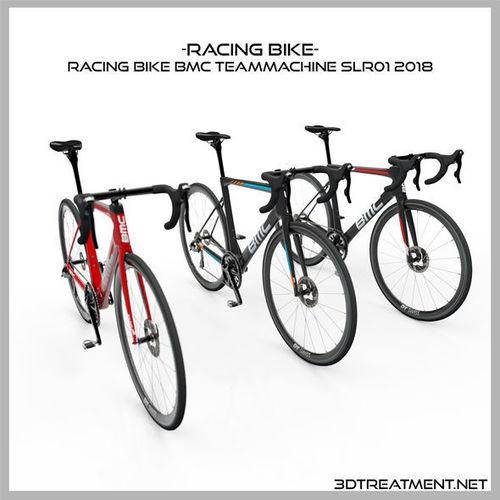 racing bike bmc teammachine slr01 2018 3d model obj mtl 3ds fbx c4d dxf stl 1