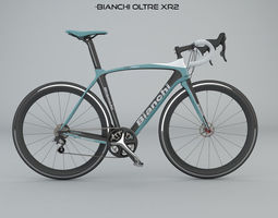 3D model Bianchi Oltre XR2 Racing Bike
