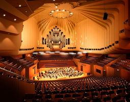 Elegant Orchestra Theater 3D model