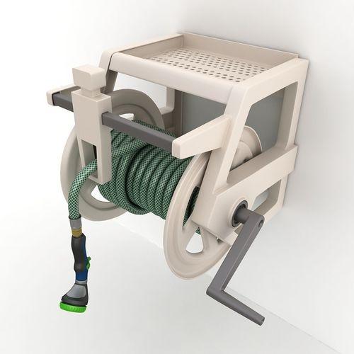 hose reel wall mount 02 3d model max obj mtl 3ds fbx tga 1