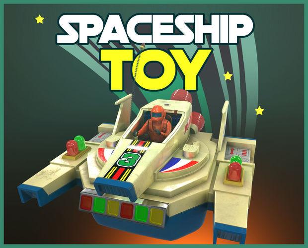 Vintage Spaceship Toy