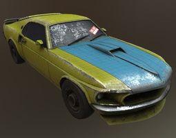 Mustang 1969 3D asset