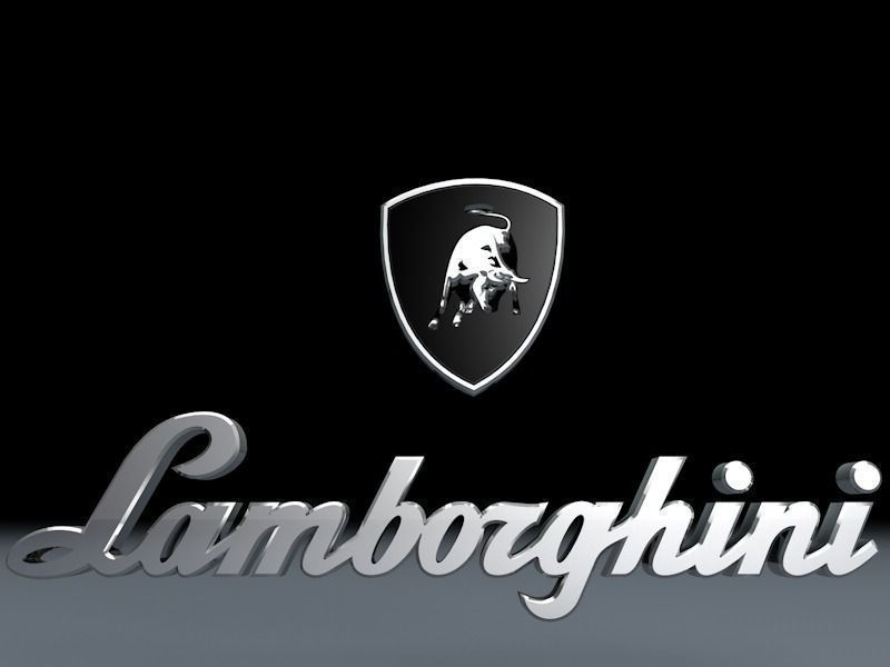 Lamborghini Logo 3d Model Car Cgtrader