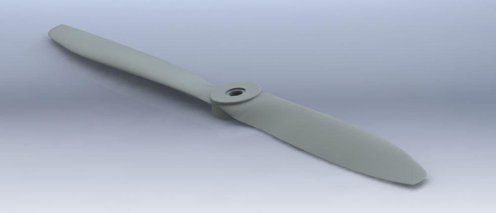 APC 13x4W Propeller   3D Print Model