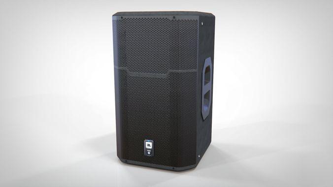 audio monitor - jbl prx 600 3d model max obj mtl fbx tga 1