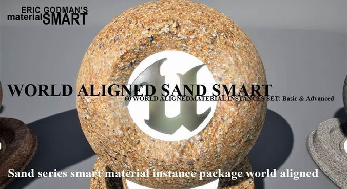 sand world aligned materials 3d model uasset 1