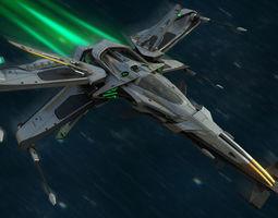 3D asset X-Blade