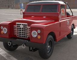 3D Land Rover pickup