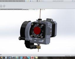 3d makerbot replicator 2 extruder conversion