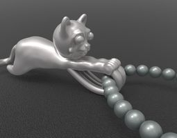 Pandant Teddy 3D printable model