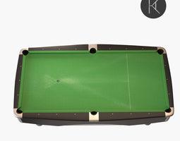 Brunswick Metro Pool Table 3D model