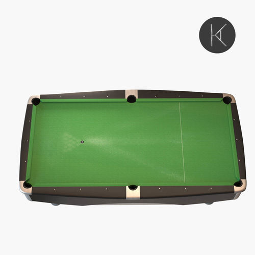 Brunswick Metro Pool Table D Model CGTrader - Brunswick metro pool table