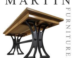 Writing desk Martin furniture 3D