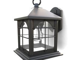 Outdoor wall lantern 11 3D