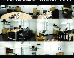 Office Architectural Interior Vol-1 3D model