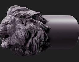 3D printable model Lion Face Tip