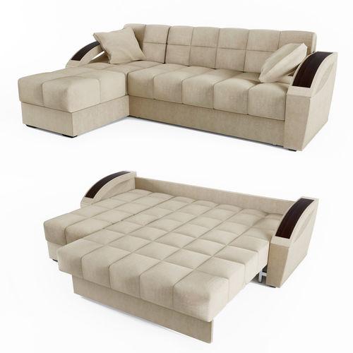 Corner sofa bed Montreal HOFF | 3D model