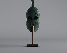 3D model Ancient Greek Helmet