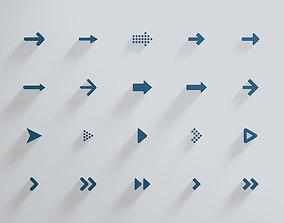 3D Arrow Collection x20