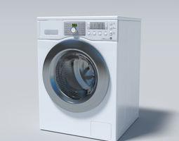 Washing machine cleaning 3D