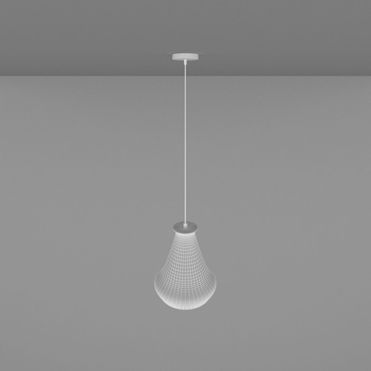 Pendant Lamp 6 3D Model MAX OBJ