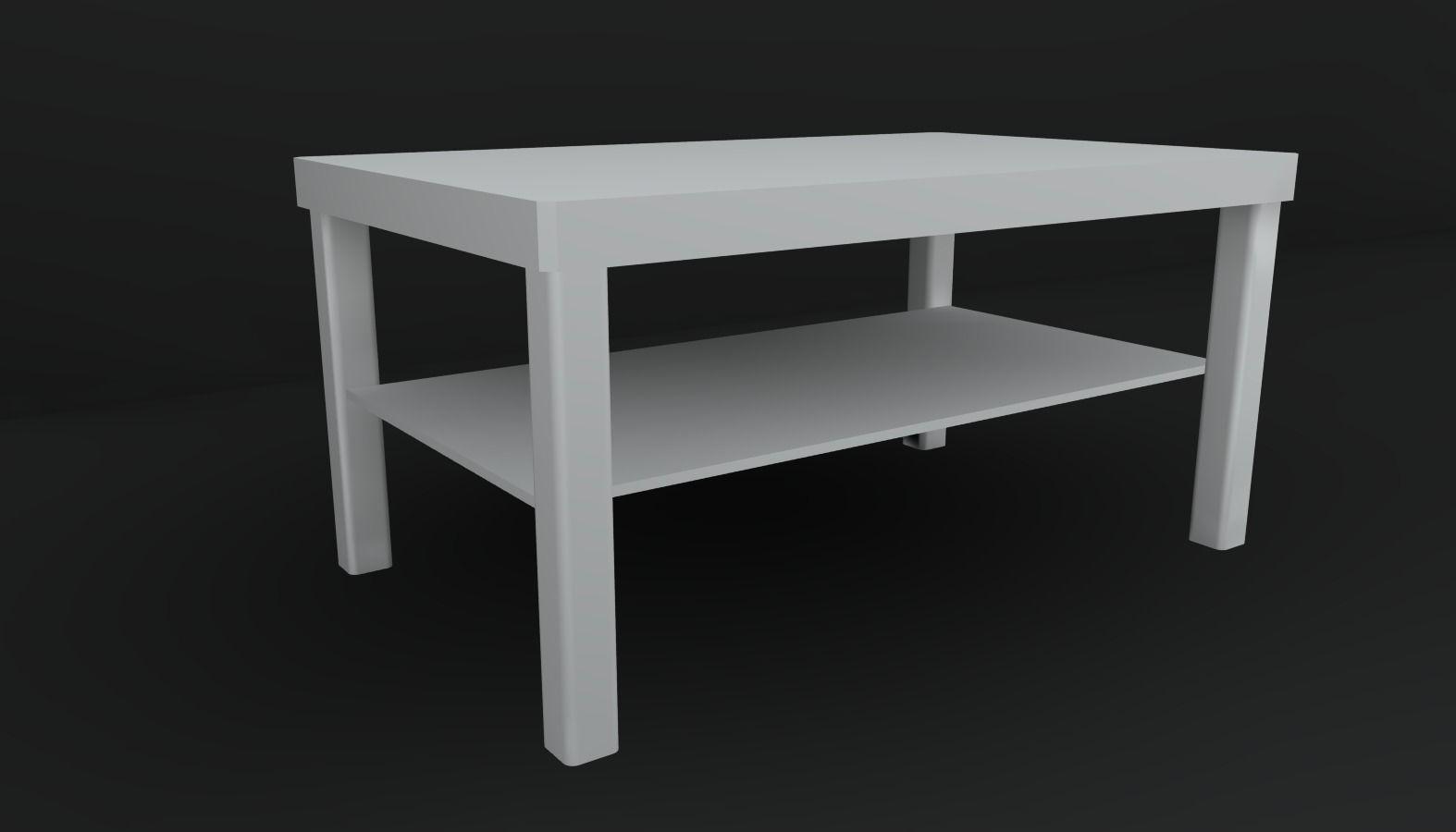 Lack Coffee Table White Model Skp 1
