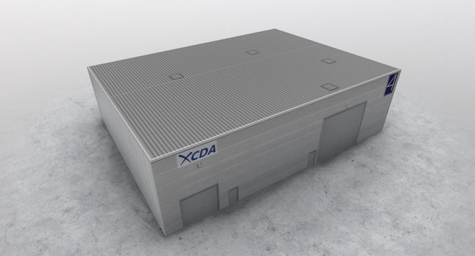 lfmn garage 3d model low-poly max obj mtl 3ds fbx 1
