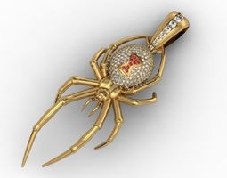 Pendant spider 3D print model