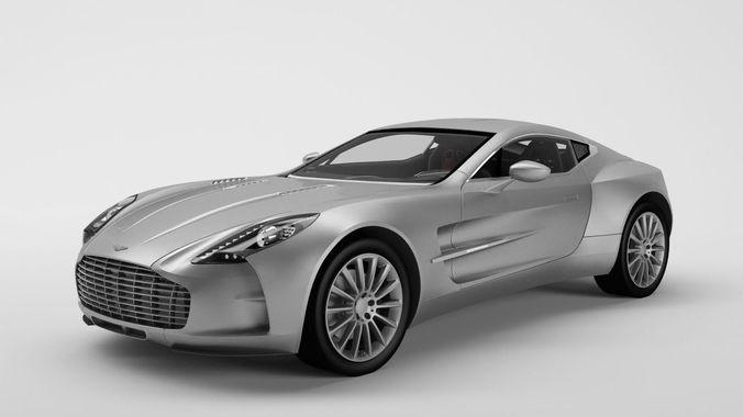 Aston Martin One 77 3D Model