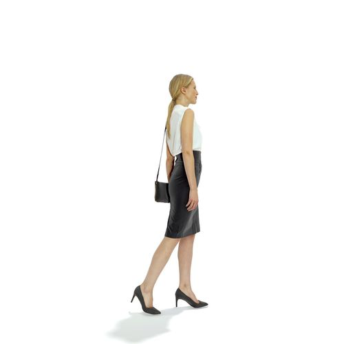 blonde-business-woman-with-long-skirt-bw