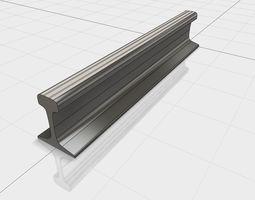 3D model Rail R65 GOST R 51685-2000