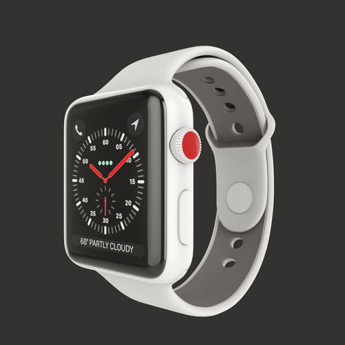 Apple Watch Edition Series 3 42mm with Sport 3D model 3