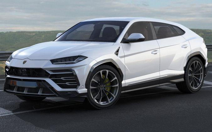 3d Lamborghini Urus 2019 Cgtrader