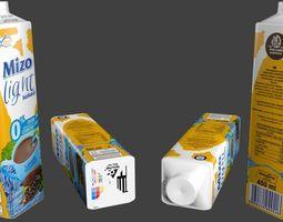 low-poly Mizo cocoa 3D