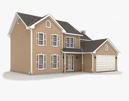 Cottage 10 3D model