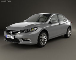 honda accord with hq interior 2013 3d