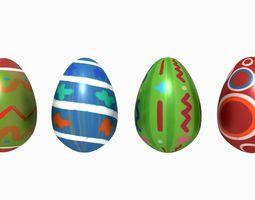 3D model Easter Eggs kit - volume 3