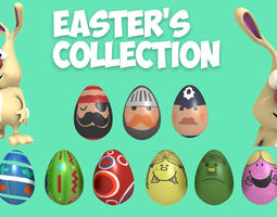 3D model Easter Collection