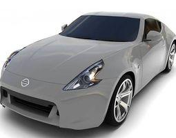 freight Nissan FairladyZ 2009 3D model