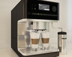 Miele CM 6300 Coffee Machine 3D