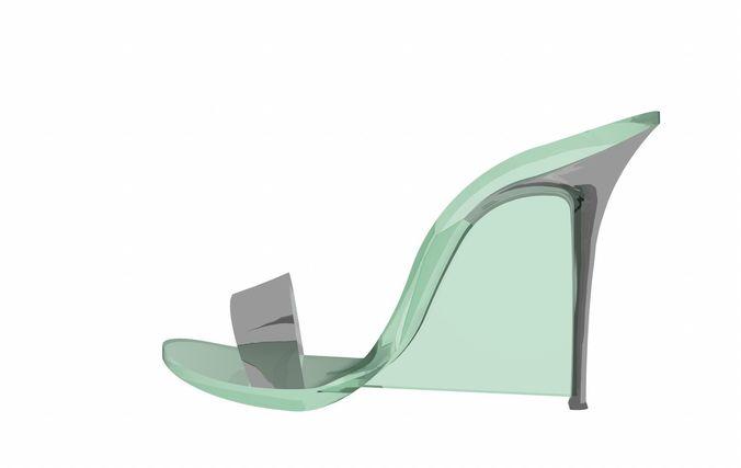High heel fetish model