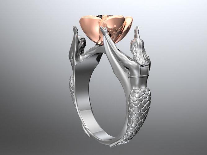 fantasy ring 3d model stl 1