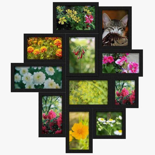 3d asset photo frames collage cgtrader. Black Bedroom Furniture Sets. Home Design Ideas